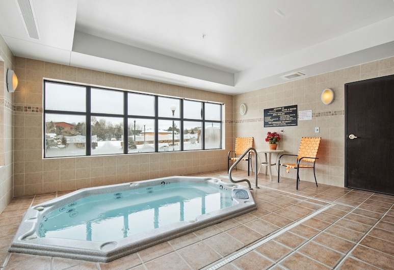 美國住宿套房飯店, 溫泉, 室內 Spa 池