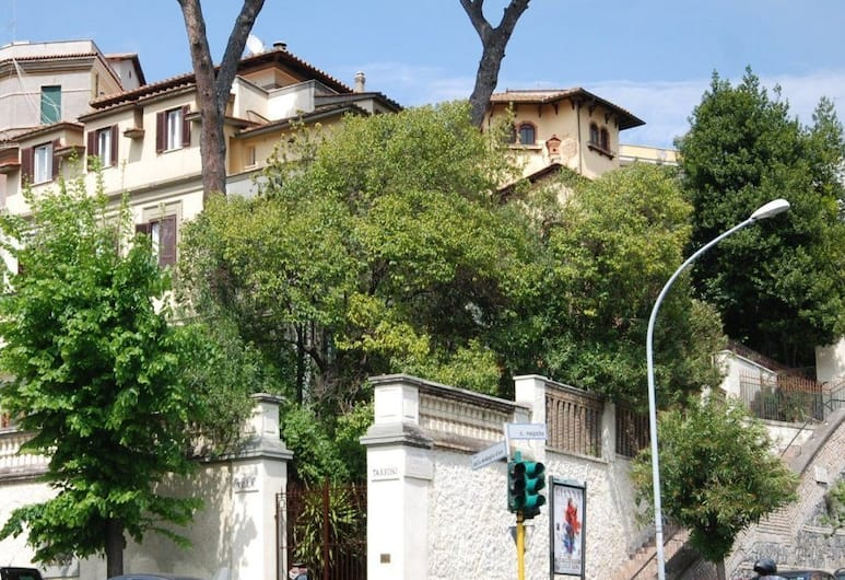 Hotel Residence Villa Tassoni, Rom, Depan hartanah