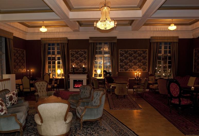 Eksjo Stadshotell, Eksjö, Lounge i lobbyn