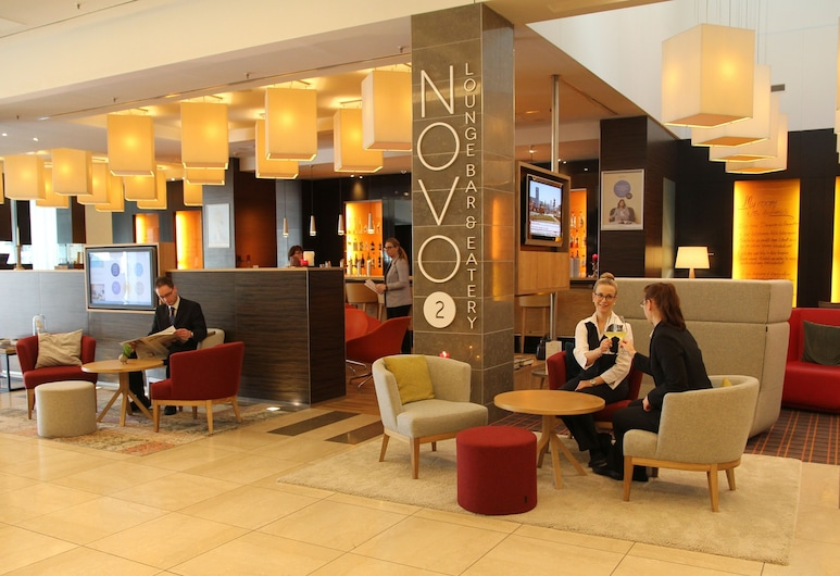Novotel Berlin Am Tiergarten, Berlin, Sittområde i lobbyn