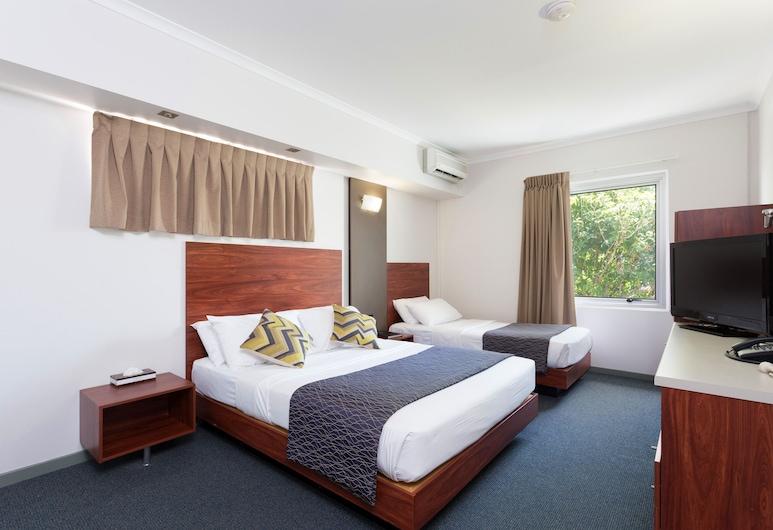 羅克利國際汽車旅館, 羅克里, 豪華雙床房, 客房