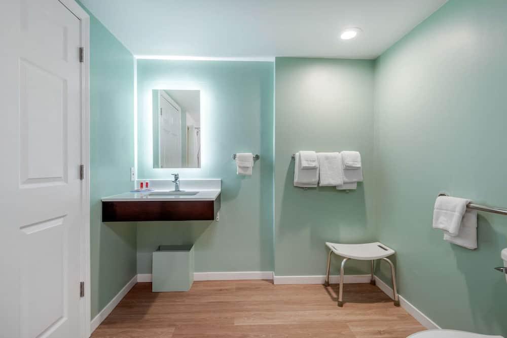 客房, 1 張特大雙人床, 無障礙, 非吸煙房 (No Pets) - 浴室
