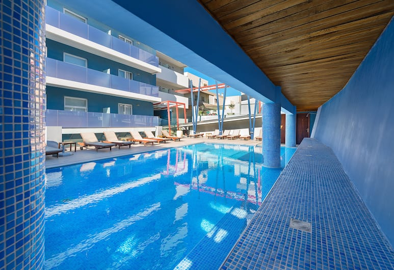 스마트라인 세미라미스 시티 호텔, 로도스, 야외 수영장