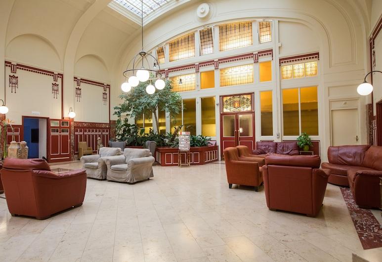 Rho Hotel, Amsterdam, Sitzecke in der Lobby