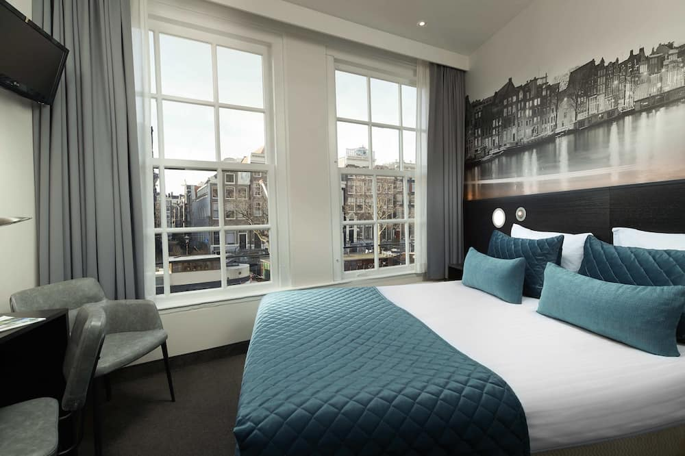 City Double Room, 1 Double Bed, Canal View - Guest Room
