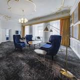 皇家套房, 1 張特大雙人床 - 客廳
