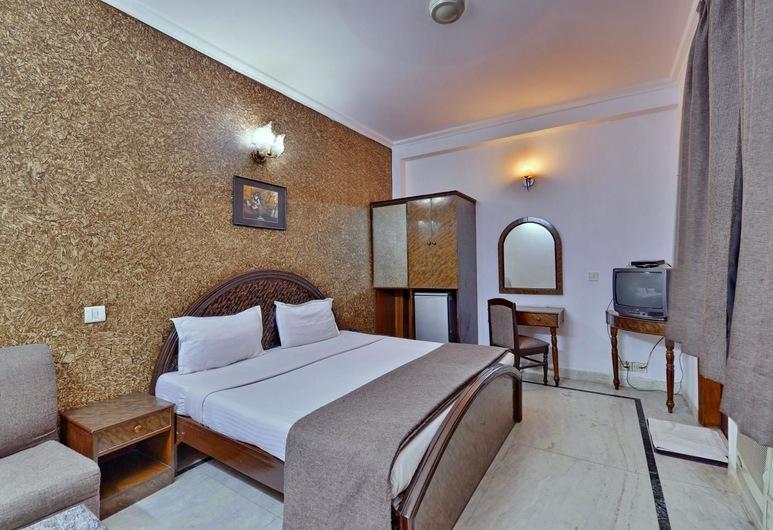 Hotel Rahul Palace, New Delhi, Deluxe soba, 1 spavaća soba, privatna kupaonica, Pogled iz sobe za goste