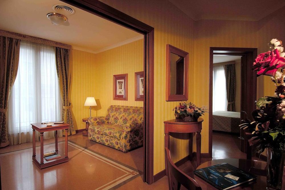 Superior Apartment, Balcony - Living Area