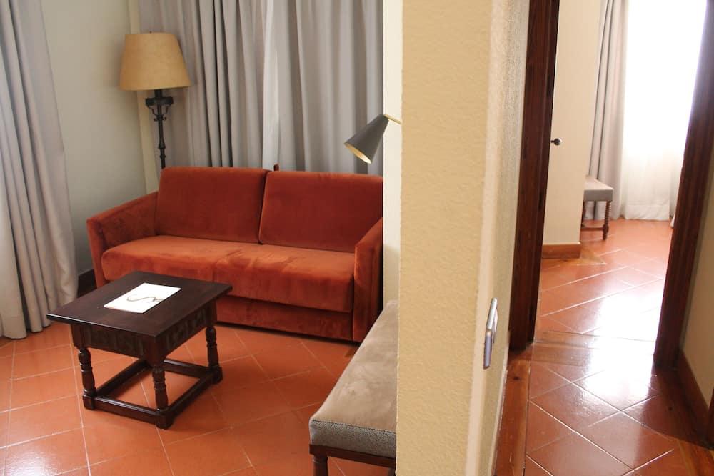 Standard szoba két külön ággyal (3 adults) - Nappali
