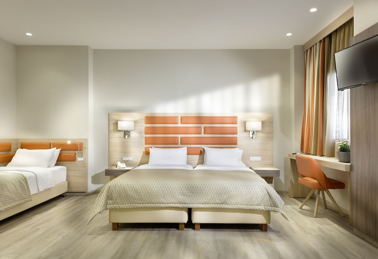 Hotel Jason Inn, Atenas, Quarto quádruplo, Quarto