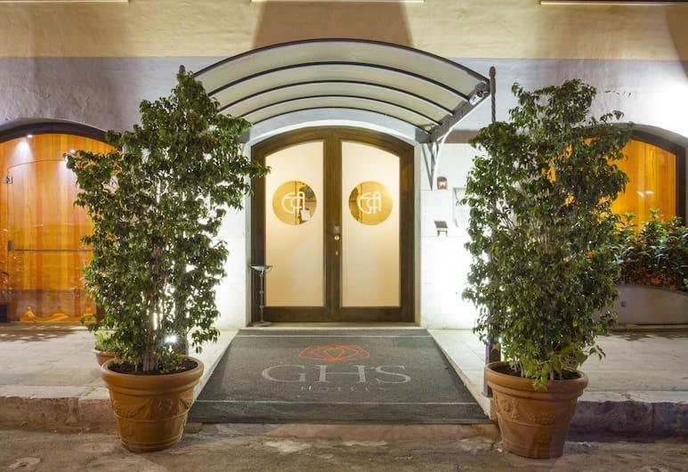 Hotel Vecchio Borgo, Palerme, Entrée de l'hôtel