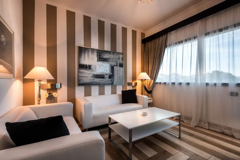 Suite, 1 Doppelbett, Meerblick - Zimmer