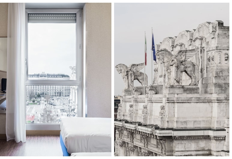 Hotel Aosta, Milan, Superior Double Room, 1 Double Bed, Guest Room
