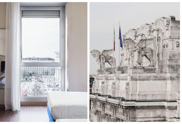 오텔 아오스타, 밀라노, 슈피리어 더블룸, 더블침대 1개, 객실