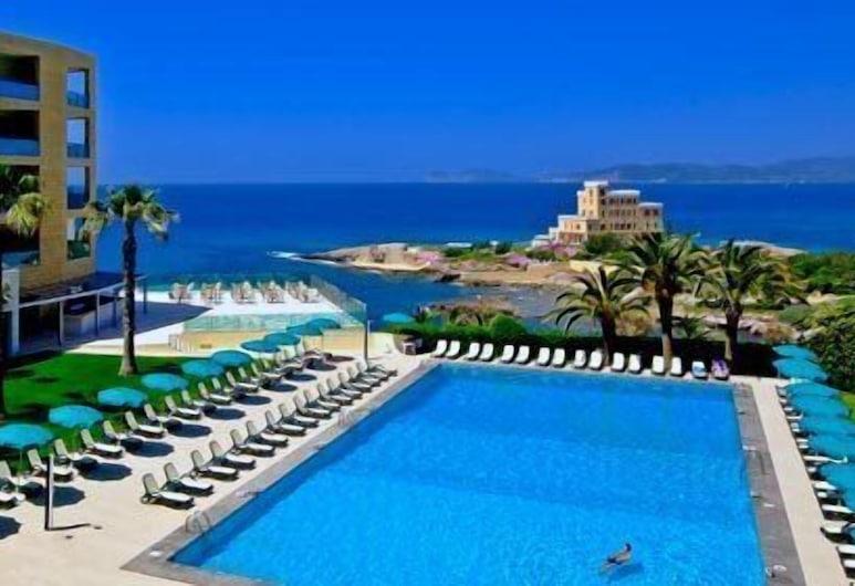 Hotel Carlos V & SPA, Alghero, Bazén na streche