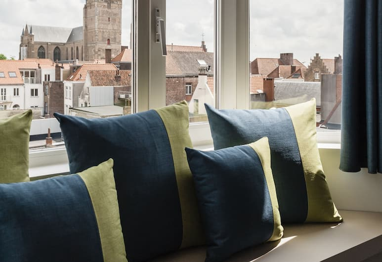 Hotel Portinari, Brugge, Superior tremannsrom, Gjesterom