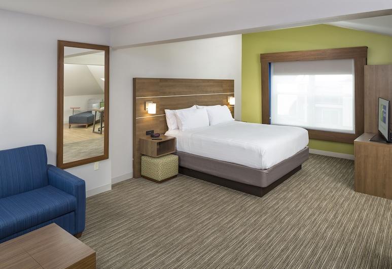白河交界處智選假日套房飯店, 白河匯口, 開放式套房, 1 張特大雙人床, 客房