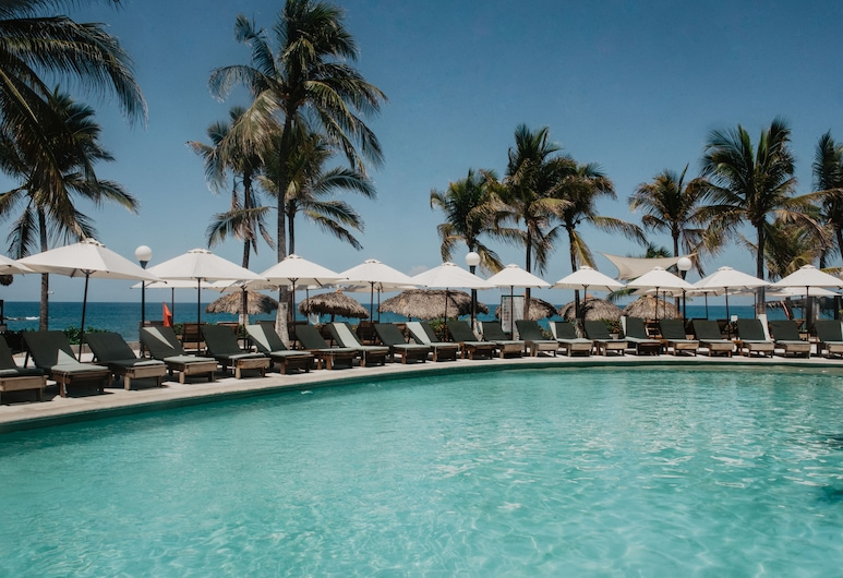 Hotel Suites Villasol, Puerto Escondido, Bazén