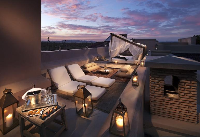 Ksar Char-Bagh, Marrakech, Comfort sviit, Terrass