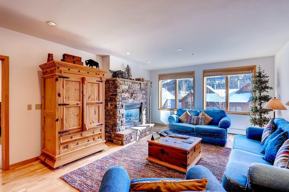 Apartamento, 2 habitaciones (Gateway) - Zona de estar