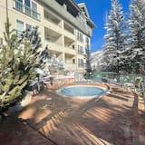 شقة - غرفتا نوم - بمغطس ساخن - منظر للجبل (Borders Lodge: Lower 110) - حمام سباحة