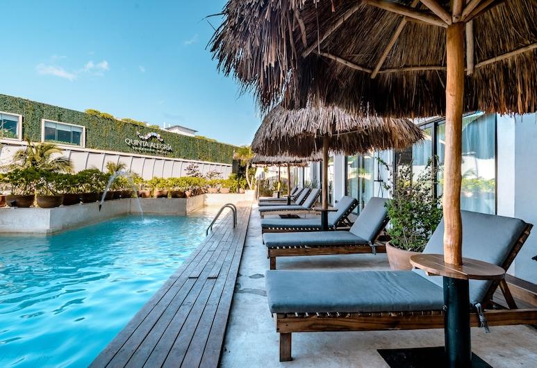Caribbean Paradise Boutique by GuruHotel, פלאיה דל כרמן, בר על החוף