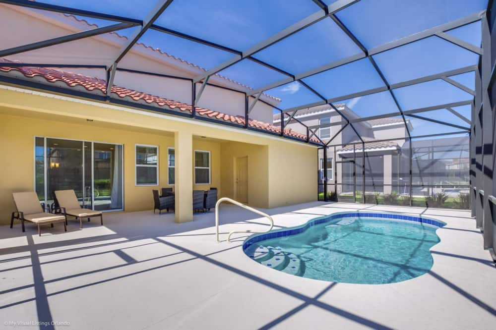 Ferienhaus, 5Schlafzimmer, eigener Pool - Privatpool