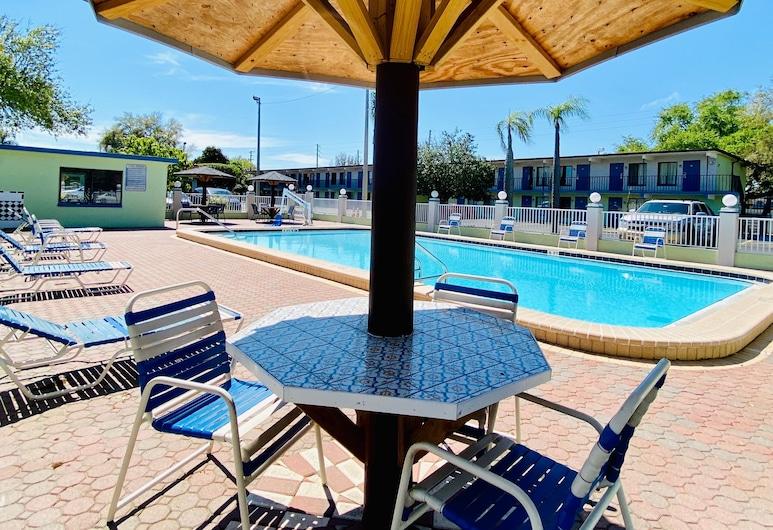 Gulf Way Inn, Clearwater, Piscina