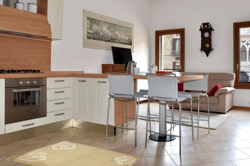 Apartman, 1 spavaća soba (Dependance, Cannaregio, 1822) - Dnevni boravak