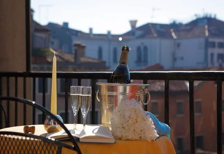 Al Portico Guest House Venezia, Benátky, Balkón