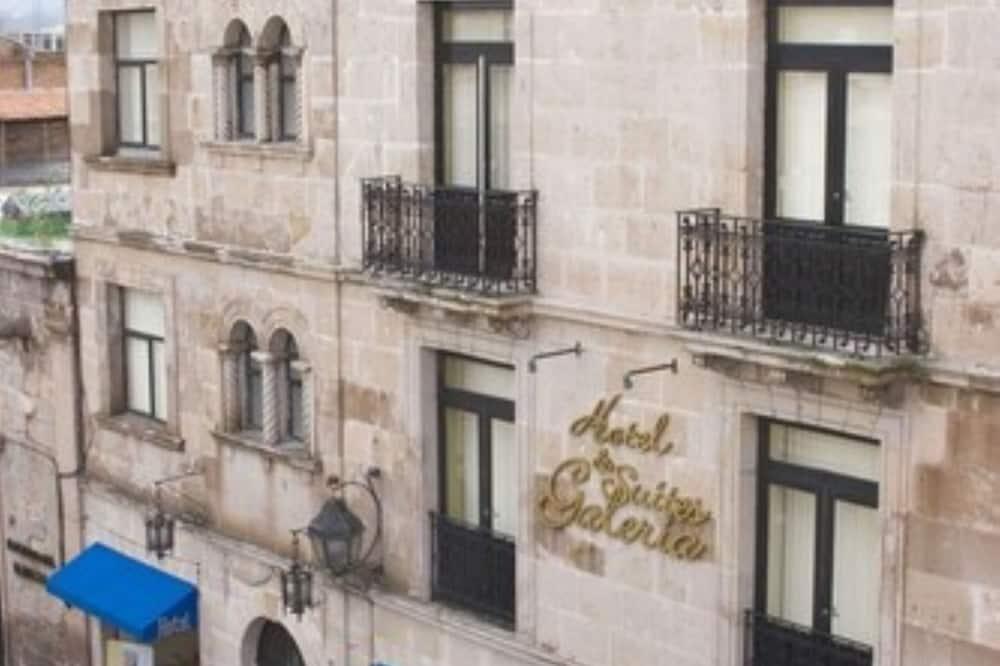 Hotellin julkisivu