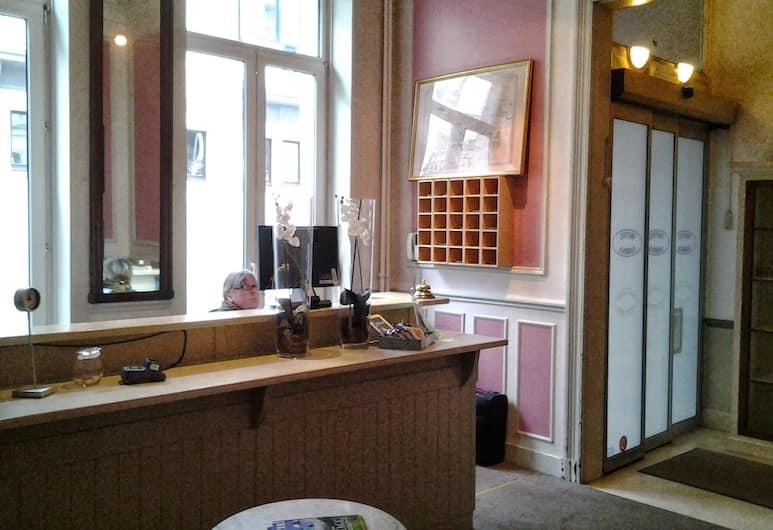 Hotel Sabina, Bruxelles, Reception