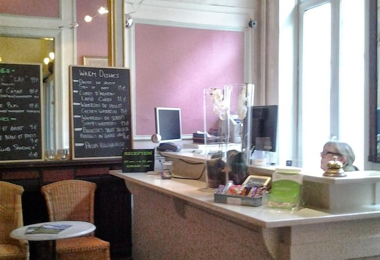 Hotel Sabina, Brüssel, Rezeption