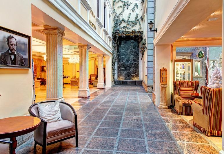 Author Boutique Hotel, St. Petersburg, Sitteområde i lobbyen