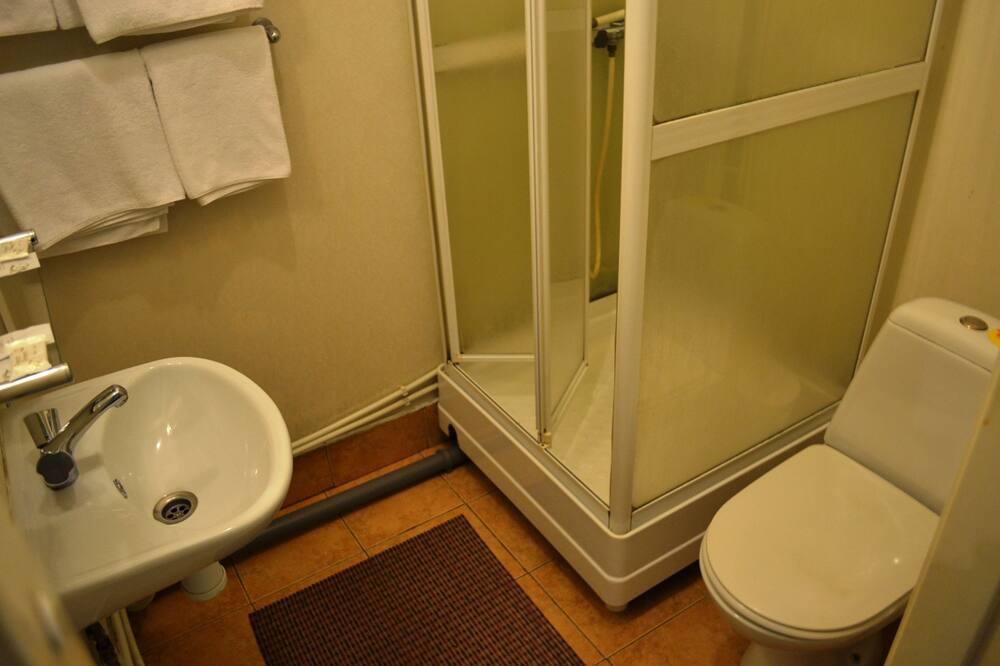 Стандартный двухместный номер с 2 односпальными кроватями (Plus) - Ванная комната