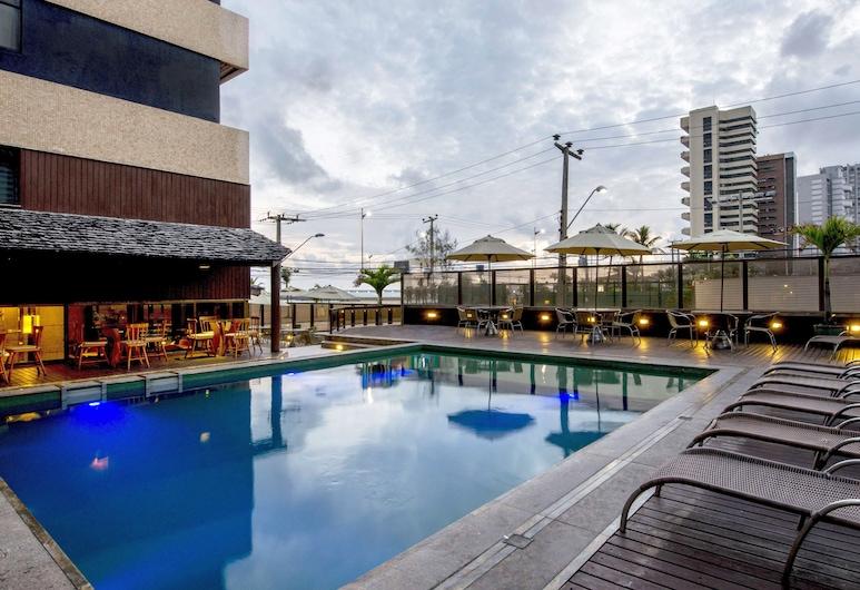 Carmel Magna Praia Hotel, Fortaleza, Außenpool