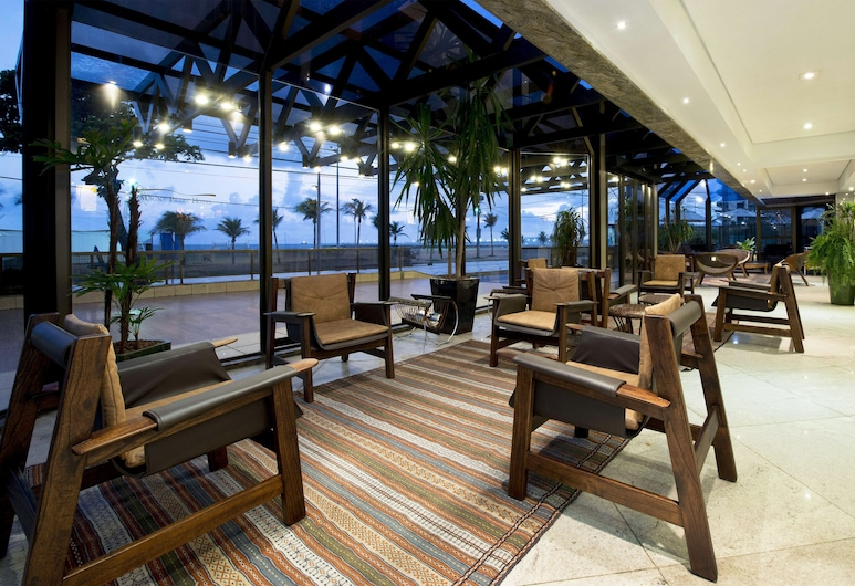 Carmel Magna Praia Hotel, Fortaleza, Khu phòng khách tại tiền sảnh