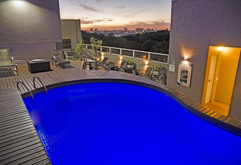Tarobá Hotel, Foz do Iguaçu, Bazén na streche