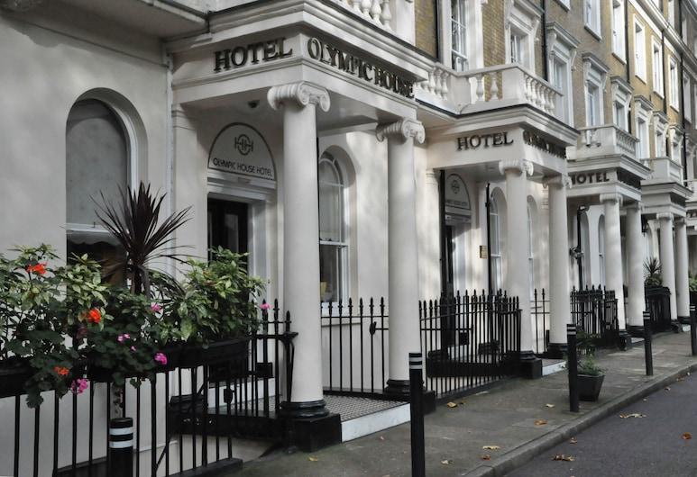 Olympic House Hotel, Londýn, Průčelí hotelu