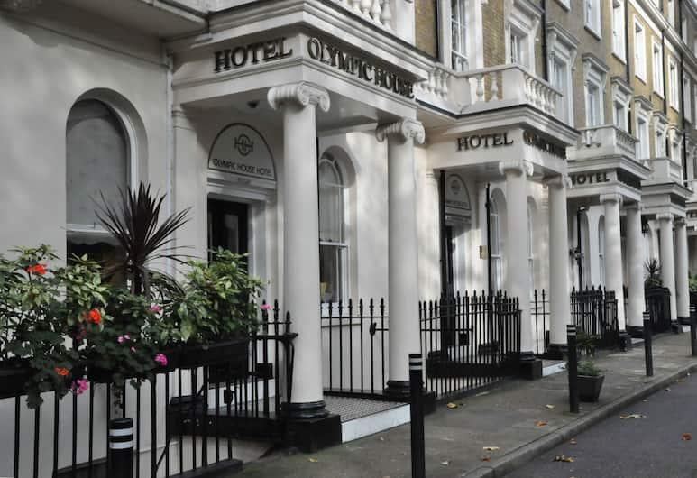 Olympic House Hotel, London, Hotel homlokzata