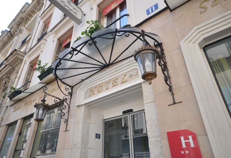 호텔 생 제오르주 라파예트, 파리, 호텔 입구