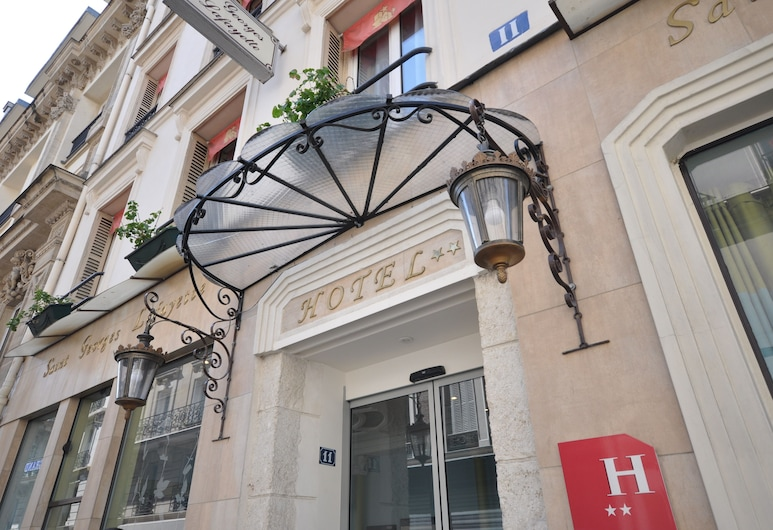 Hotel Saint Georges Lafayette, פריז, הכניסה למלון