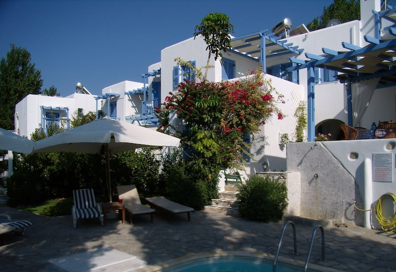Panorama Hotel, Πάρος, Εξωτερική πισίνα