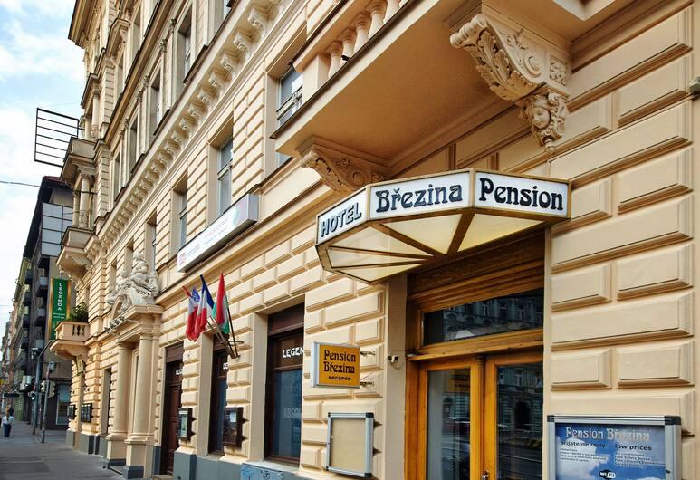 Pension Brezina Prague, Praga, Wejście do hotelu