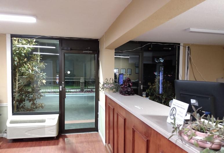 Gateway Inn-Savannah, Savannah, Sisäänkäynti