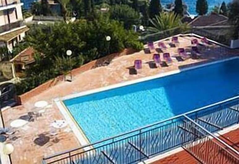 Hotel Villa Esperia, Taormina, Camera Executive con letto matrimoniale o 2 letti singoli, vista mare, Vista spiaggia/mare