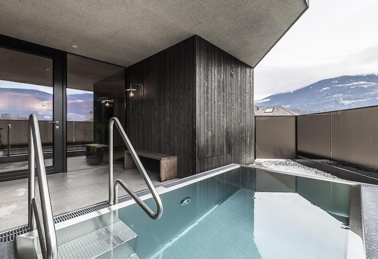 Hotel Langgenhof, Brunico, Útilaug