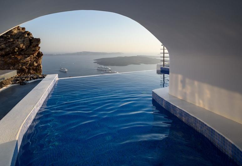 Pegasus Spa Hotel, Santorini, Suite, Piscina Privativa (Angels), Quarto