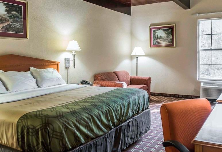 Econo Lodge Tallahassee, Tallahassee, Rom – standard, 1 kingsize-seng, ikke-røyk, Gjesterom