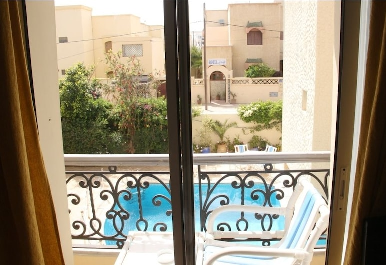 Al Jasira Hotel, Essaouira, Balcony
